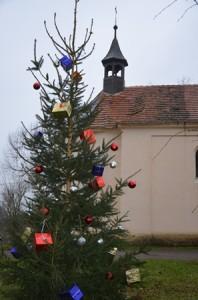 Vánoční strom v Kostelíku