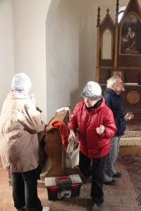 Wanda, Zdena a Míra uklízejí