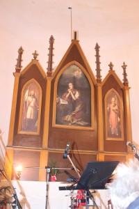 Opravený oltář
