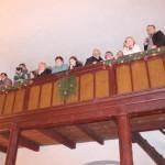 diváci na kůru