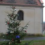 vánoční uklid kaple