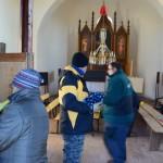 Úklid v Kapli